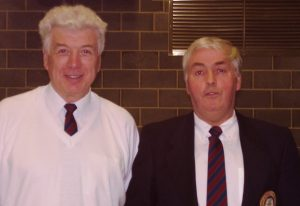 Arthur Jackson with Alan Banthorpe