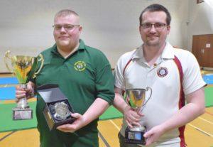 Champion Adam Lamb ((Staffs) and RU Francis Boatman